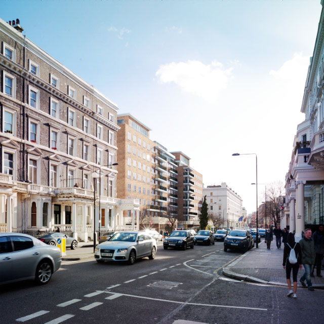 1 7 Queens Gate Gardens Roof Top Extension Designed By