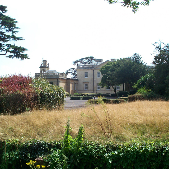 Langley Park House From The Trees