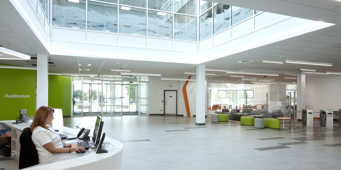 Essex College Thurrock Campus Reception
