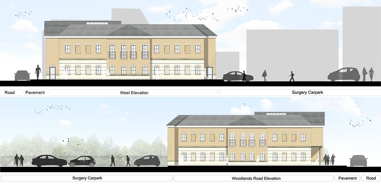 Wickford surgery elevations